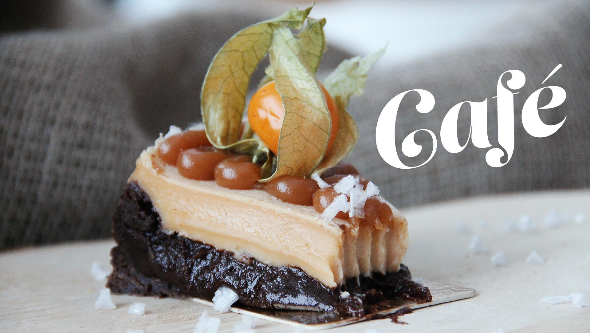 Bild av kaka i vårt café